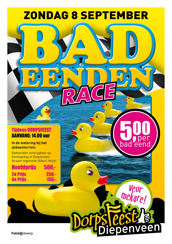poster Badeendenrace